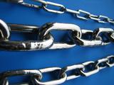 鎖の太さ比較3mmと6mmと8mmリンクチェーン