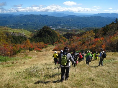 清水沢コースハイキング