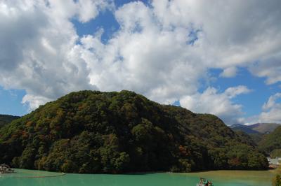 品木ダムの写真