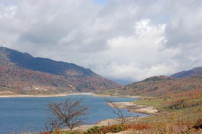 野反湖の写真