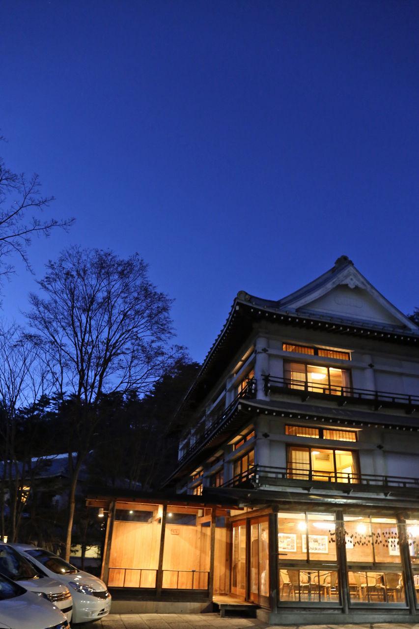 夕方の草津ホテル : 写真オタクな若旦那の宿と美術館ブログ 草津ホテル