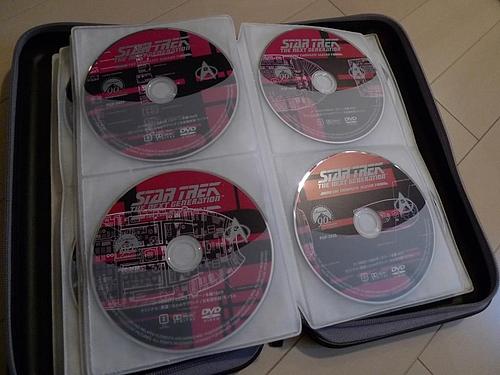 スタートレック専用DVDケース