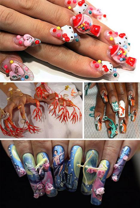 Weird-Nail-Art
