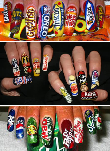 Brand-Nail-Art