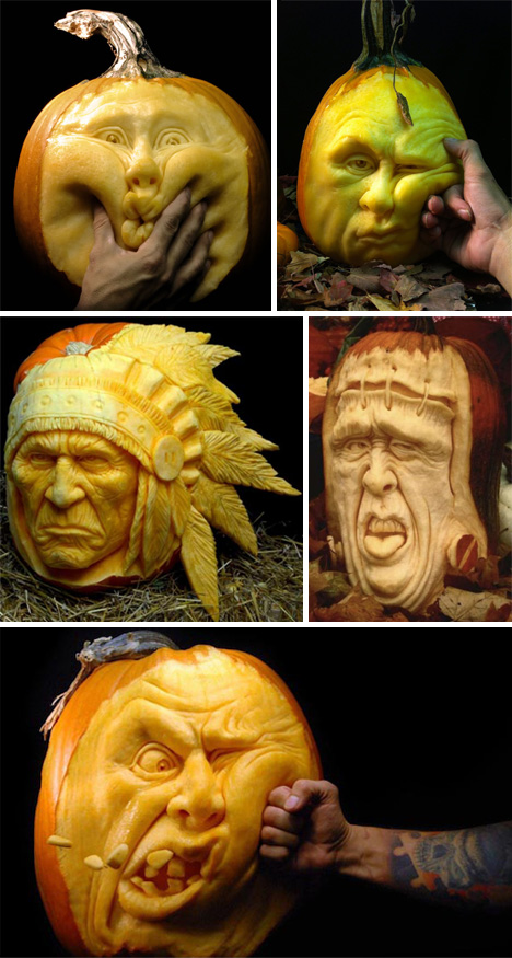 Pumpkin-Face-Carving