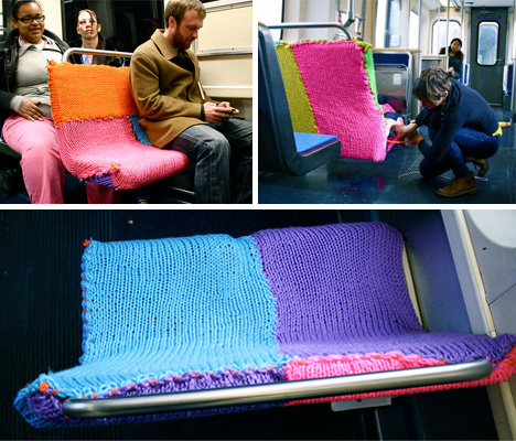 Subway-Yarn-Bomb