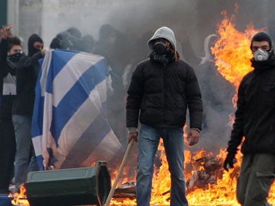 greece-greek-athens-protest-flag-burn