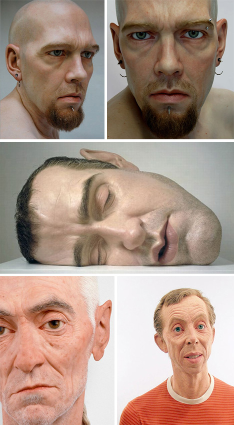 Hyper-Realistic-Face-Sculpture