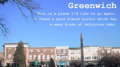 グリンニッジの街並み