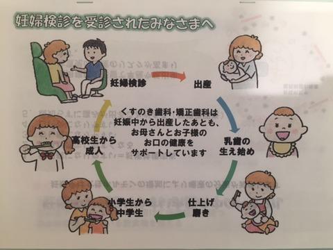 妊婦さん向けのパンフ完成!!