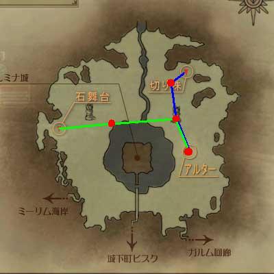 カーレイ地図(完全版)原寸