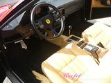 フェラーリ 328 車内クリーニング