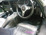 ジャガー Eタイプ 車内クリーニング