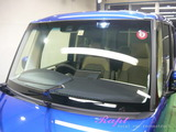 ホンダ N-BOX 窓ガラス撥水加工