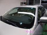 マセラティ クアトロポルテ 窓ガラスウロコ除去&撥水コーティング