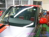 ホンダ N-ONE 窓ガラス撥水加工