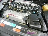 アルファロメオ 166 エンジンルームクリーニング
