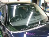 BMW ミニクーパーS 窓ガラス撥水加工
