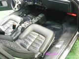 フェラーリ 512BB 車内クリーニング