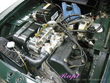 ランチア フルビア エンジンルームクリーニング