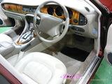 ジャガー 車内クリーニング