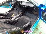 アルピ−ヌA110 車内クリーニング