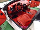 フェラーリ F12 車内クリーニング