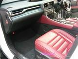 レクサス RX450h 車内クリーニング