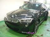 BMW X6 ボディコーティング