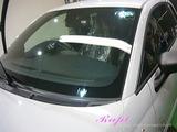 アバルト 595 窓ガラス撥水加工