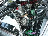 シトロエン DS エンジンルームクリーニング