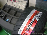 ホンダ S2000 タイヤ交換