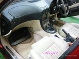 アルファロメオ 166 車内クリーニング