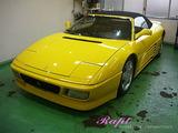 フェラーリ 348スパイダー ボディコーティング施工
