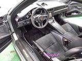 ポルシェ GT-3RS 車内クリーニング