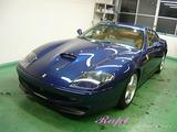 フェラーリ 550マラネロ ボディコーティング施工