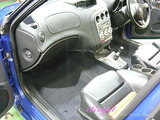 アルファロメオ 156GTA 車内クリーニング