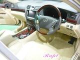 レクサス LS460 車内クリーニング