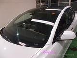 テスラ モデル3 窓ガラス撥水加工