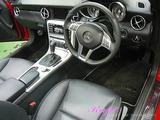 メルセデスベンツ SLK 車内クリーニング