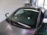 アバルト 595 窓ガラスウロコ除去&撥水コーティング