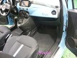 アバルト500 車内クリーニング