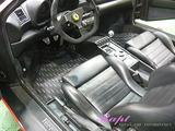フェラーリ F355 車内クリーニング