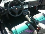 ポルシェ 911カレラSカブリオレ 車内クリーニング