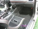 ルノー メガーヌ RS 車内クリーニング