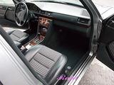 メルセデスベンツ 500E 車内クリーニング