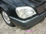 メルセデスベンツ CL500 バンパー修理