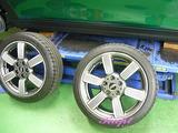 BMW ミニ ホイールコーティング