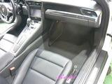 ポルシェ 911カレラS 車内クリーニング