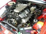 アルファロメオ エンジンルームクリーニング